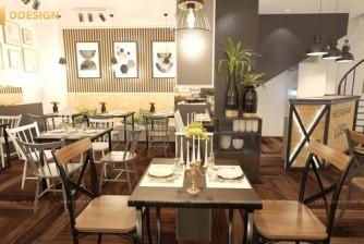 Thiết kế thi công hoàn thiện công trình nhà hàng Âu