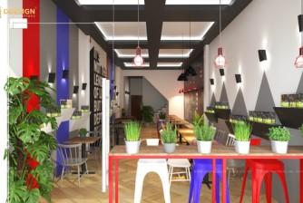 Thiết kế thi công trọn gói quán cà phê cá