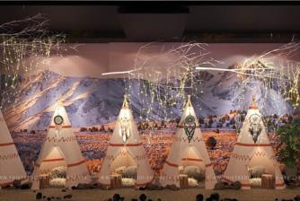 Thiết kế thi công trọn gói công trình bộ tộc da đỏ