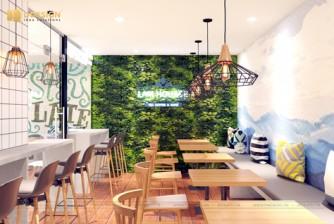 Hoàn thành dự án quán cà phê LAM Coffee