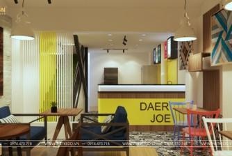 Thiết kế thi công quán cà phê DEAR JOE phong cách hiện đại, tinh tế