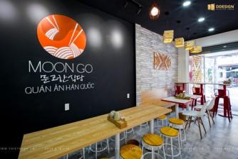 Thiết Kế Thi Công Hoàn Thiện Công Trình MoonGo - Quán Ăn Hàn Quốc